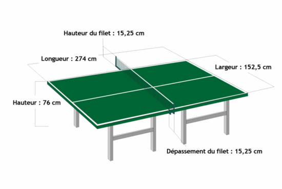 Table en tennis de table - Royal Eveil TT