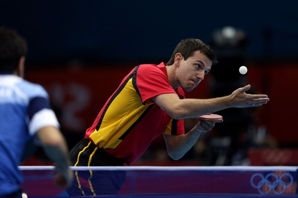 Timo Boll Service correct en tennis de table - Royal Eveil TT
