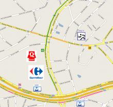 itinéraire - Auderghem Map - Eveil TT